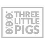 logo 3 little pigs