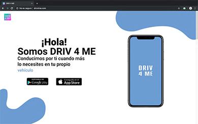 WEB DRIV 4 ME - Diseño web freelance