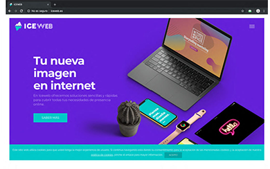WEB ICEWEB - Diseño web freelance